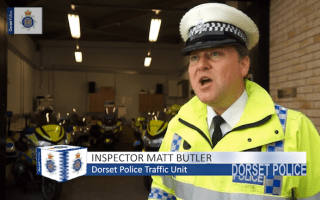 Dorset Police releases shocking motorbike crash footage