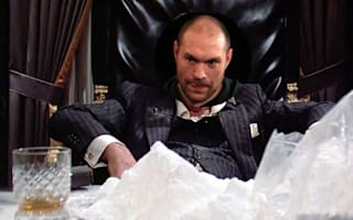 Fury tweets Scarface mock-up amid cocaine reports