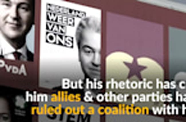 Could anti-Islam, anti-EU Geert Wilders win the Dutch elections?