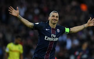 Paris Saint-Germain 4 Nantes 0: Ibrahimovic signs off with Ligue 1 record
