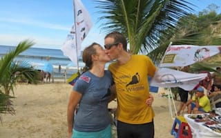 British couple complete run through South America with 100kg in tow