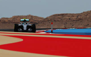 Rosberg quickest in first Bahrain practice
