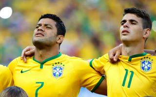 Hulk: Oscar left Chelsea for Shanghai because of me