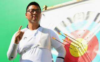 Rio 2016: Kim breaks first world record