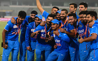 Dhoni thrilled with India form
