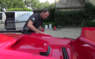 This is what it takes to properly clean a classic supercar