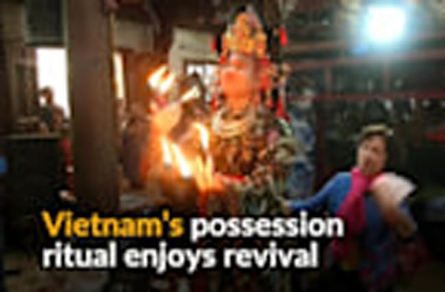 Vietnam's spiritual possession ritual gets resurrected