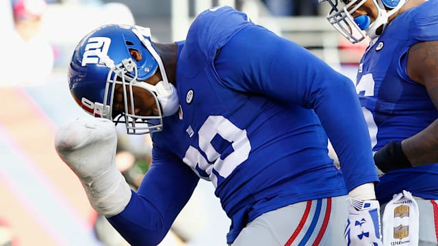 Giants defensive end Jason Pierre-Paul has hernia surgery