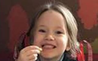 Man held after girl, four, killed in hit-and-run