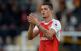 Xhaka proud to play for 'classy' Arsenal