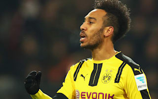 Unlucky Aubameyang unable to suit up for awards