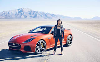Fast and Furious star pushes new Jaguar to the limit