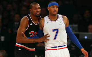 Knicks star Anthony wooing free agent Durant
