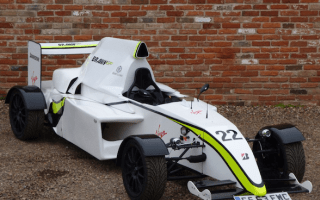 This replica F1 car isn't fooling anyone