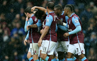 Aston Villa 2 Norwich City 0: Garde's men boost survival hopes with vital three points
