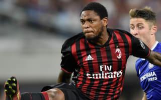 Luiz Adriano at the double as Milan beat Freiburg