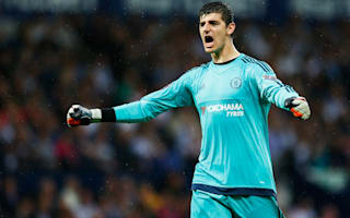Courtois shows off free-kick skills with brilliant goal