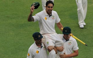 Retiring Johnson takes two wickets as second Test ends in draw