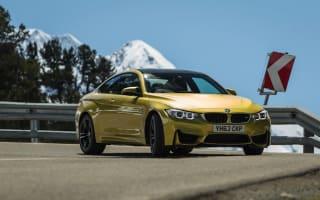 Valet parking attendant 'reviews' BMW M4
