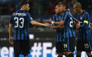 Genoa v Inter: Mancini not feeling the pressure