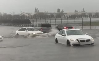 Audi just trolled BMW on Twitter over flood footage