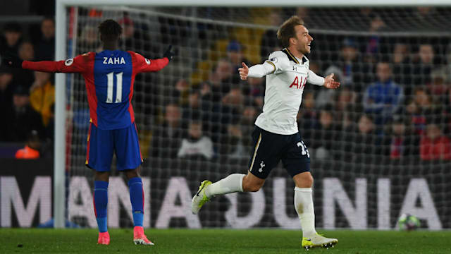 Christian Eriksen Seals Crucial Win for Tottenham Over Crystal Palace