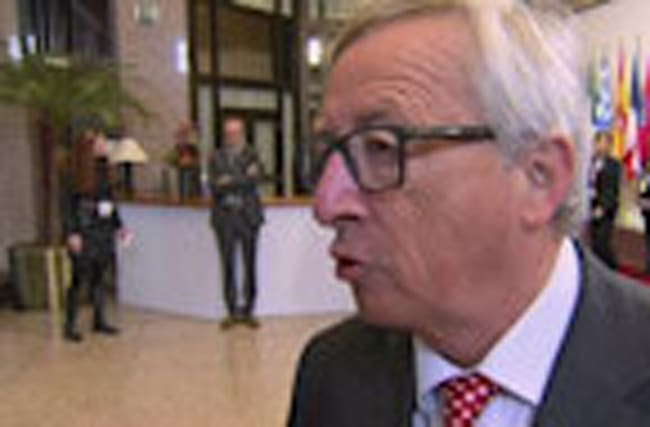 Reporter has feisty encounter with Jean-Claude Juncker
