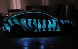 Video: Electronic flashing paint developed