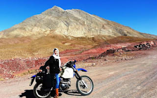 We chat to adventure motorcyclist Lois Pryce about her 'Revolutionary Ride' across Iran
