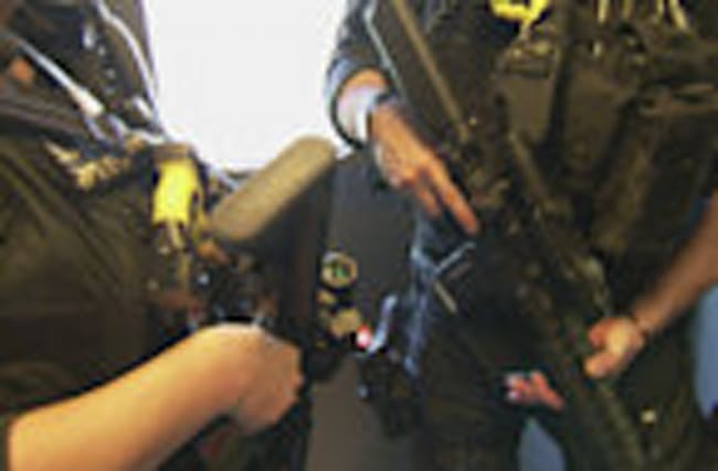 Armed police on British trains for critical threat level