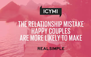 The relationship mistake happy couples are more likely to make