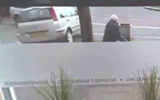Worst driver ever? Elderly woman crashes into shop while reversing