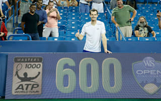 Murray reaches 600 ATP Tour wins in Cincinnati