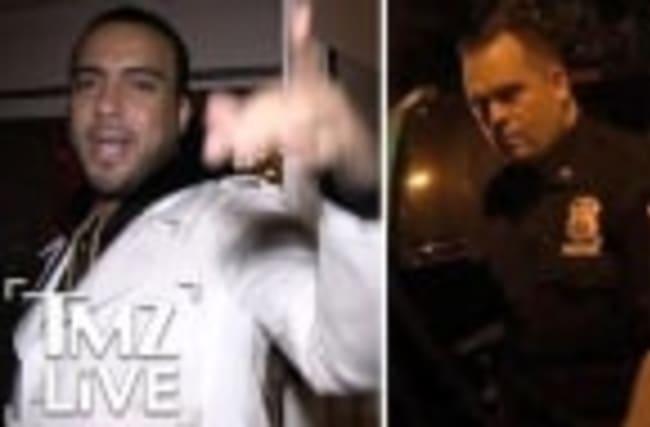 French Montana Taunts NYPD (TMZ Live)