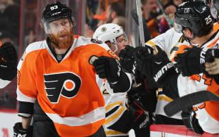 Flyers roll on, Islanders win New York derby