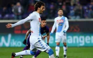 Fiorentina 3 Napoli 3: Last-gasp Gabbiadini rescues point