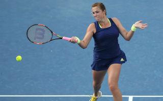 Pavlyuchenkova beats Jankovic on rain-hit day