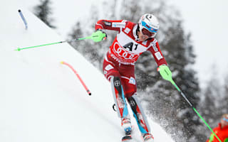 Kristoffersen, Hirscher gain on injured Svindal