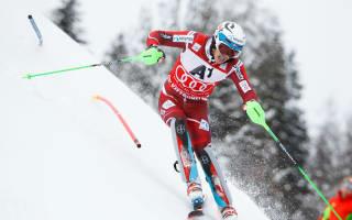 Kristoffersen, Hirscher gain on injured Svindal