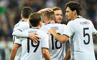Germany 4 Italy 1: World champions ease to victory in Munich