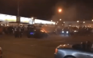 Fast &amp&#x3B; Furious fan blows up engine at Paul Walker memorial