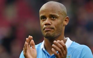 Kompany ready to return for City against Sunderland