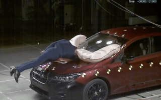 New Subaru Impreza will have exterior airbags for pedestrians