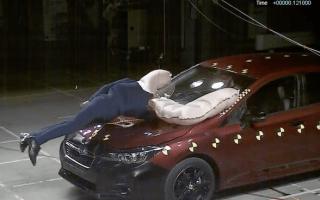 New Subaru Impreza will have exterior airbags for pedestrians