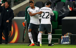 Mkhitaryan limps out of Manchester United Europa League clash