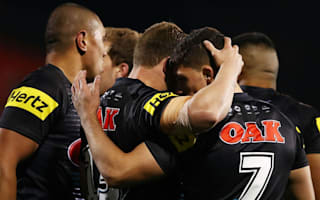 Panthers rout lowly Roosters to boost play-off hopes