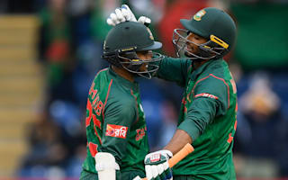 Record-setters Shakib and Mahmudullah keep Bangladesh hopes alive