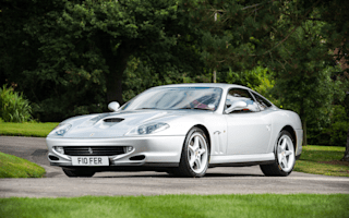 Ferrari 550 with less than 2,000 miles on the clock going up for auction