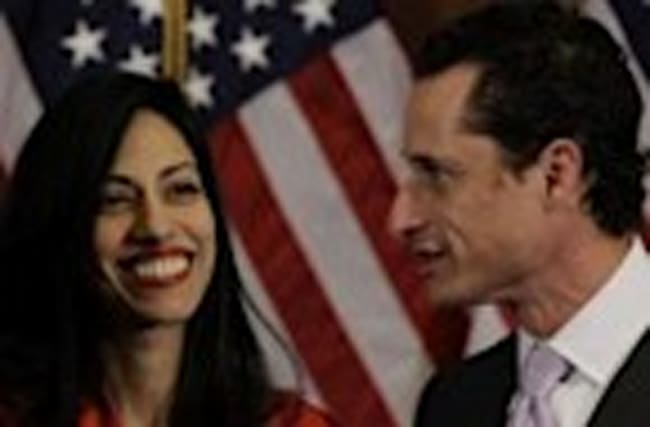 Weiner and Abedin Split Amid New Sexting Scandal
