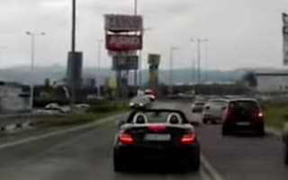Mercedes driver repeatedly blocks ambulance in Slovakia